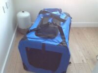 Lightweight Fabric Pet Carrier (used twice) excellent condition