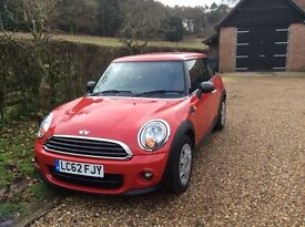 Mini one 1.6 diesel, with only 13500miles