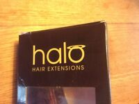 HALO hair piece in red, medium length