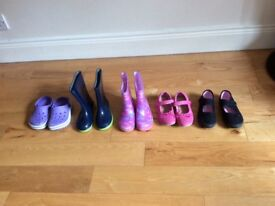 Bundle of girls shoes size 9,10,11