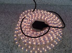 One LED chasing rope lights, in doors or out door use