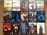 Various DVDs horror,thriller,comedy,kids