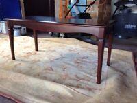 Mahogany Coffee Table - Very Good Condition