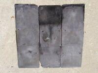 400+ Reclaimed Slate Roof Tiles 19 x 34 cm