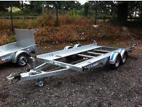 Dale Kane 14x6'2 ramp car transporter trailer