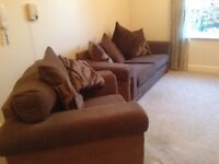 Sofa and chair hardly been used