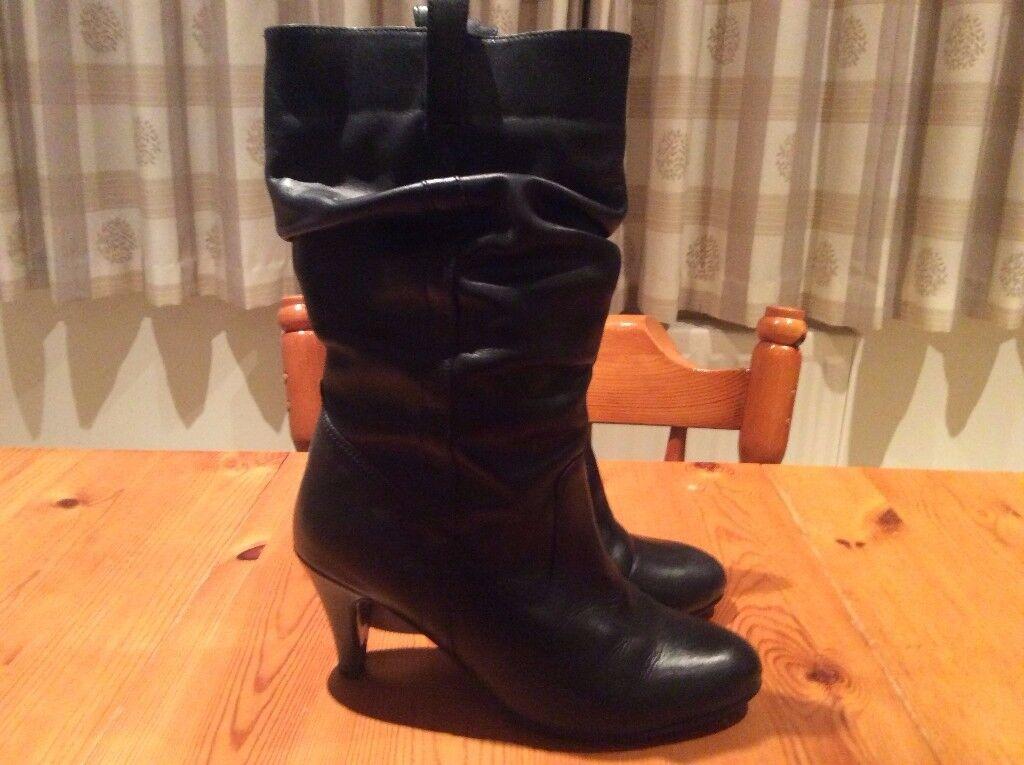 Next Black Boots. Size 6. Excellent Condition.