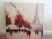 Paris canvas wall art