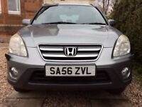 Honda CRV I-CTDI 56 Plate Silver *reduced for quick sale*