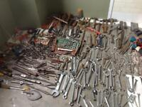 Tool box and giant lot of tools