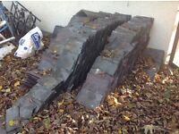 Roofing slates small