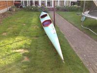 Double racing canoe £500.00