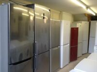 Fridge Freezers - Sold with Warranty - Free local Delivery - From £95.00