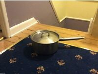 Bourgeat large saucepan with lid (excellent condition)