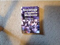 Sociology as applied to Medicine 6th Edition (Edited by Graham Scambler)