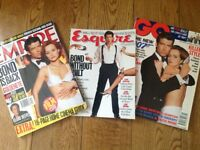 James Bond magazines