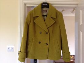 WOMENS PER UNA JACKET 'WINTER LIME'. SIZE 20. EXCELLENT CONDITION