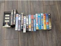 Various VHS videos