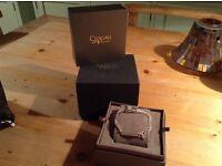Clogau cariard bracelet silver gold