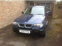 BMW X3 DIESEL 2 LITRE. 2006