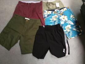 Bundle of gents shorts