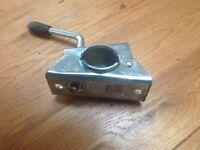 48mm Jockey wheeel clamp.