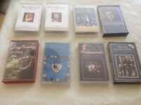 Various music cassettes