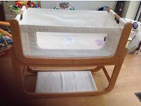 3:1 SnuzPod bedside Crib