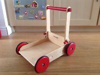 Moover wooden baby walker (natural)