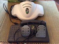 XBOX 360 MC2 MicroCon Racing Wheel & Pedals