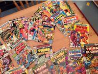 The THING comics