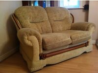 Sofa- 2 seater Top Quality Sofa Fabric and solid wood