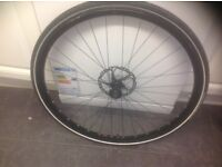 DT Swiss Front Wheel 700x28c with tyre and inner tube