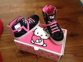 HELLO KITTY VANS/ CONVERSE/ SHOES