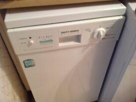 Tricity Bendix slimline dishwasher