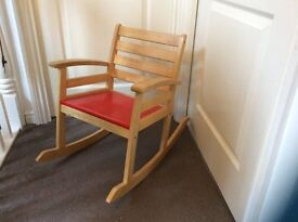 Used children's rocking chair