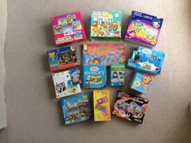 Floor Puzzles and Games Bundle for early years