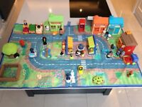 ELC Happy Land town with complete shops and accessories