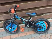 """Boys Transformers kids Childrens bike bicycle 16"""" very good condition"""