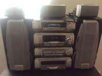 Technics stereo system sh-dv290