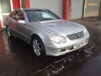 2002 Mercedes Benz C220 SE CDI diesel mot until March