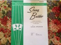 String Builder for Violin Belwin Course for strings, Book one. By Samuel Applebaum £2.00