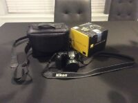 Nikon Coolpix L300 digital camera, with box and case, excellent condition, used once