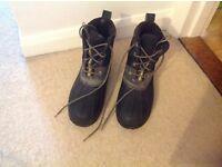 Black mucker boots