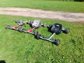 24 volt electric go karts spares or repairs