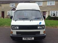 RARE-VW T25 campervan, 2.1 Fuel injection Petrol engine-AUTOMATIC, Holdworth Vision conversion