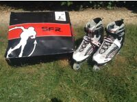 Nearly new men's roller blades for sale size12