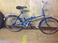 Triumph Traffic Master vintage bike