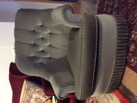 Green Victorian Armchair