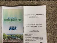 Tom Petty/Stevie Nicks Ticket -£50